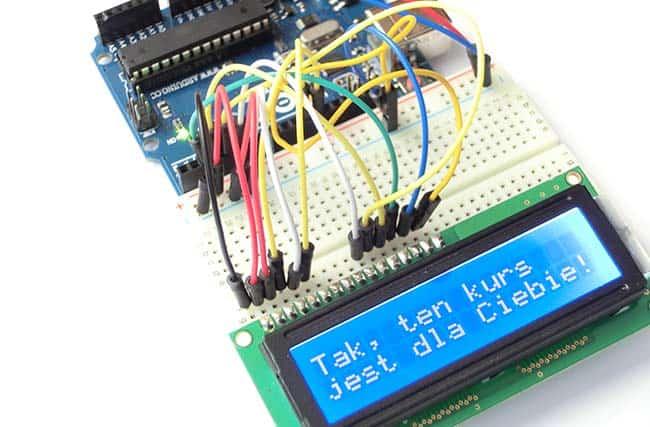 Arduino lcd podłącz