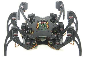 Roboty kroczące – konstrukcja mechaniczna