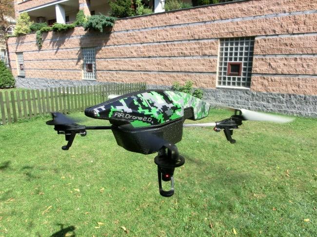 Parrot AR.Drone 2.0 w locie!