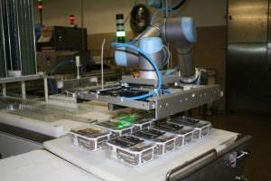 Universal Robots w branży spożywczej
