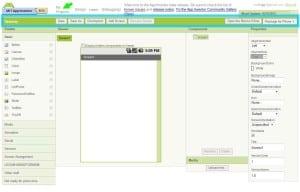 Edytor ekranów - menu.