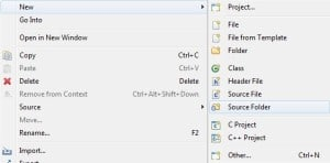 Nowy folder źródłowy
