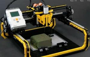 Frezarka z LEGO