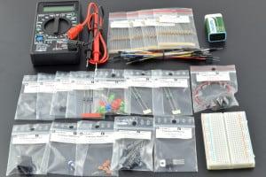 Kurs elektroniki, zestawy elementów – aktualizacja