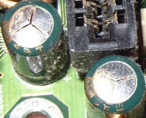Zabezpieczenie kondensatorów elektrolitycznych.