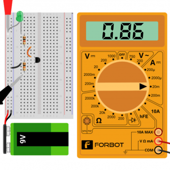Tranzystor, pomiary: prąd bazy
