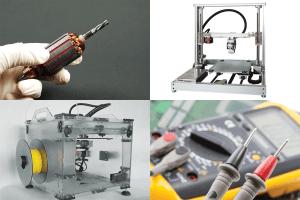 Zapowiedzi artykułów – 1# – silniki, PID, drukarki 3D
