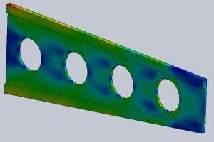 Wytrzymałość materiałów – #2 –  Symulacja w CAD