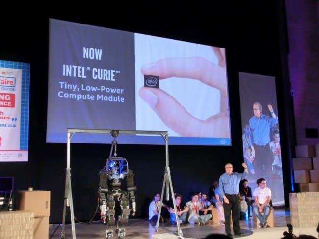 Moduł Intel Curie.