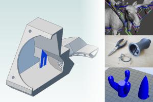 Druk 3D – Projektowanie modeli #3 – własne podpory
