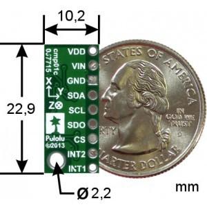 lsm303d-3-osiowy-cyfrowy-akcelerometr-magnetometr-i2cspi-modul-pololu