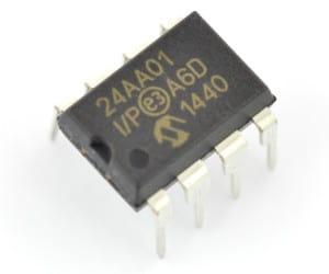 Główny bohater odcinka - pamięć EEPROM.