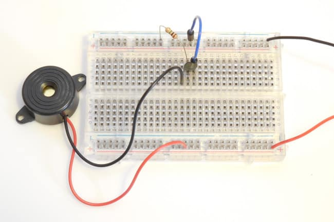 Tranzystor MOSFET - drugi układ w praktyce.