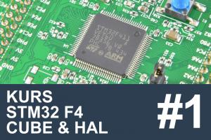 Kurs STM32 F4 – #1 – Czas poznać HAL, spis treści kursu!