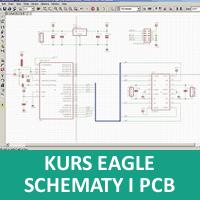 Kursy EAGLE, rysowanie schematów, bibliotek i PCB