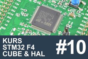 Kurs STM32 F4 – #10 – Obsługa SPI, wyświetlacz OLED