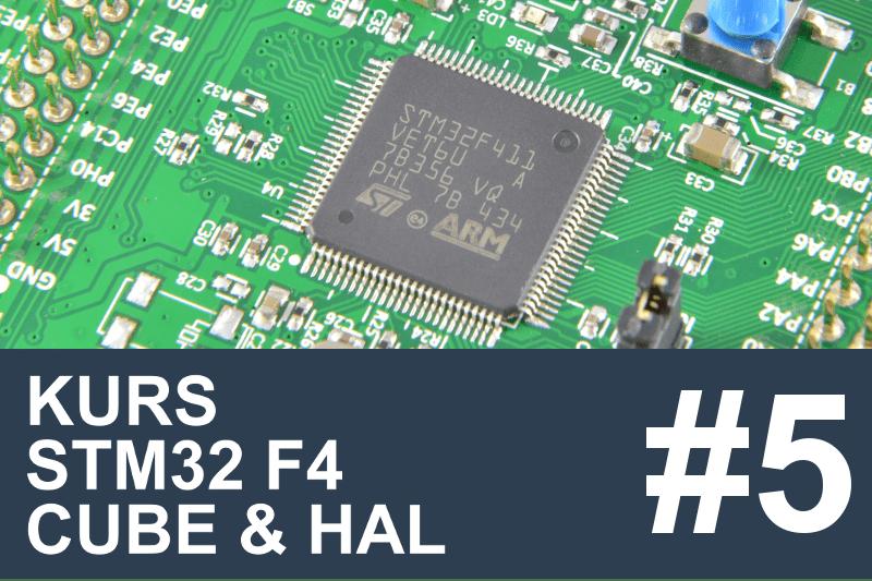 Kurs STM32 F4 - #5 - Pomiar napięcia, ADC, DMA, STMStudio