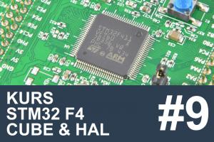 Kurs STM32 F4 – #9 – Obsługa I2C, akcelerometr
