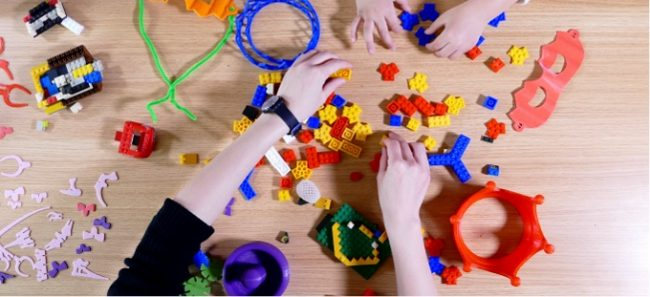 Gotowe zabawki z drukarki Mini Toy 3D.