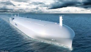 ROLLS-ROYCE buduje bezzałogowy kontenerowiec