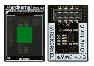 Przykładowocy modył eMMC.