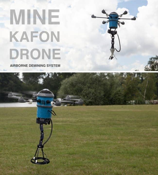 Mine Kafon w akcji