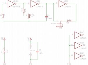 Schemat generatora do przetwornika piezo