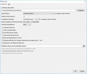 Konfiguracja środowiska Arduino.