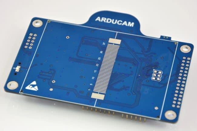 """Shield ArduCAM - strona """"z wyświetlaczem LCD""""."""