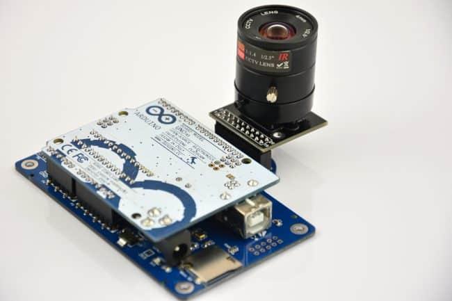Podłączenie większej kamery do Arduino.