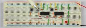 Tylko prawy przycisk – dioda wyłączona.