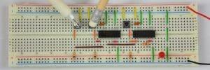 Oba przyciski – dioda wyłączona.