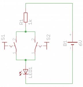 Schemat sumatora logicznego.