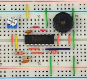 Generator do buzzera piezoelektrycznego.