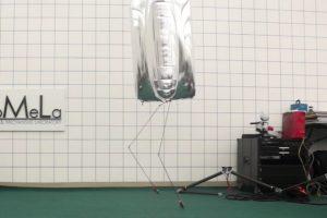 BALLU, humanoidalny robot-sterowiec