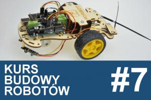 Kurs budowy robotów – #7 –  line follower, czyli bolid F1