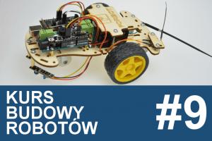 Kurs budowy robotów – #9 – ekspander I/O, serwo