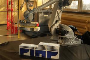 Dzień Robotyki - prezentacja na hali.