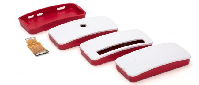 3 warianty wieczka obudowy do Raspberry Pi Zero / W.