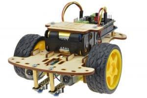 Przykładowy robot zbudowanyz wykorzystaniem shieldu.