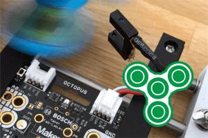 Fidget Spinner z licznikiem obrotów IoT!