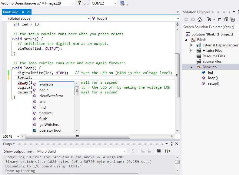 Programowanie arduino prosto z visual studio code