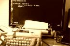 Klawiatura vintage z maszyny do pisania i Arduino