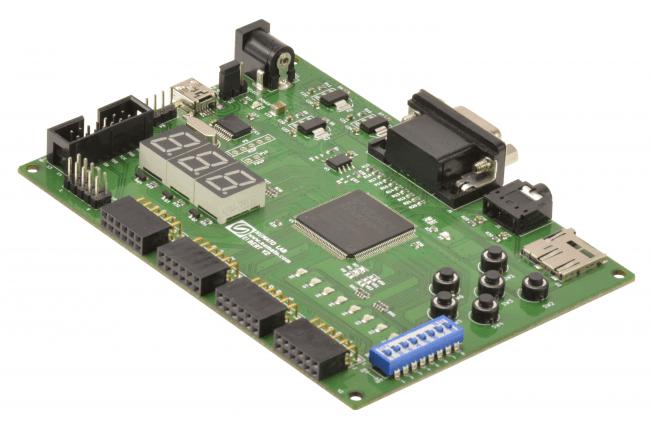 Zestaw używany w kursie FPGA.