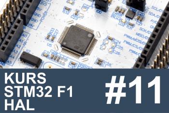 Kurs STM32 F1 HAL – #11 – I2C w praktyce, pamięć EEPROM