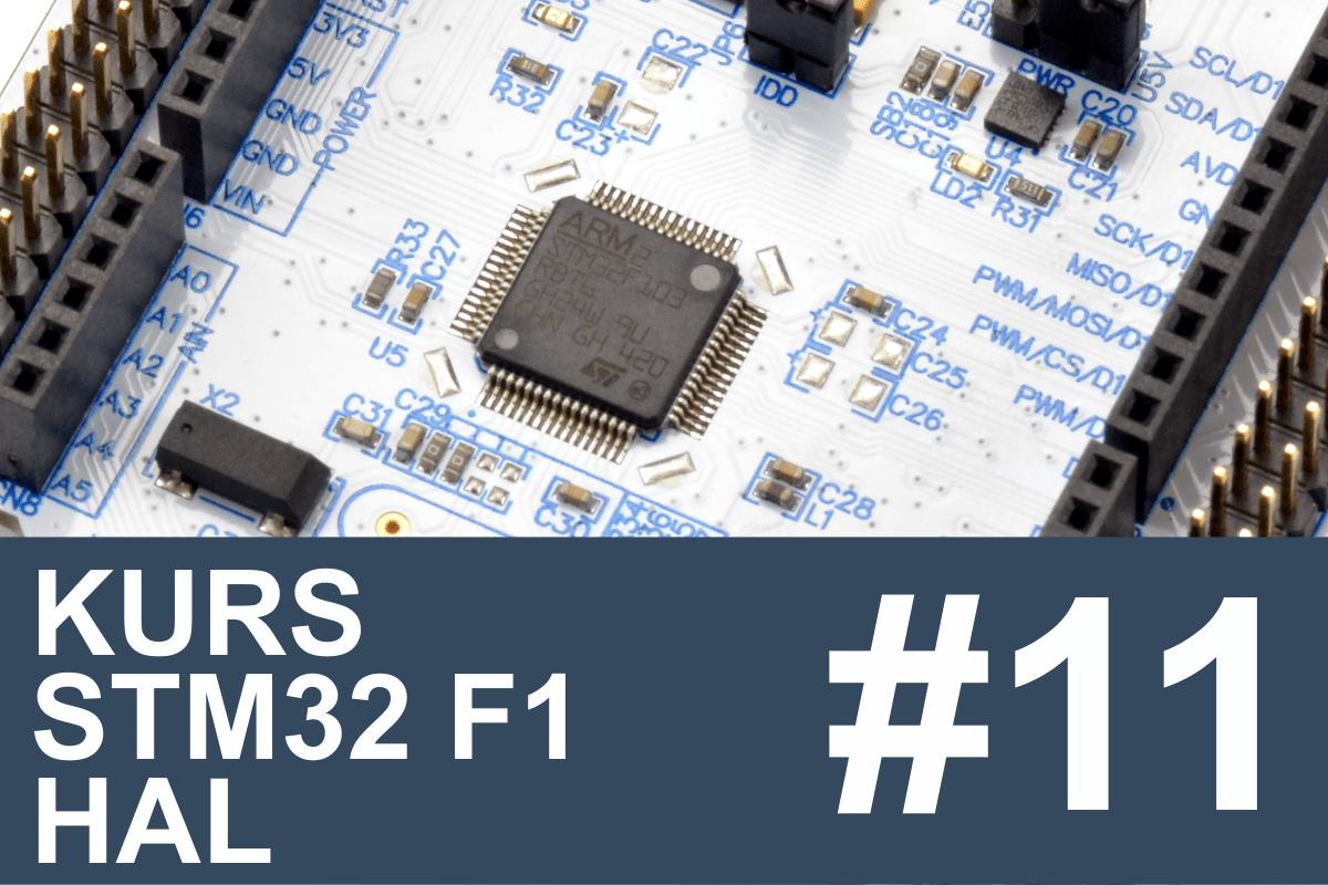 Kurs STM32 F1 HAL – #11 – I2C w praktyce, pamięć EEPROM • FORBOT