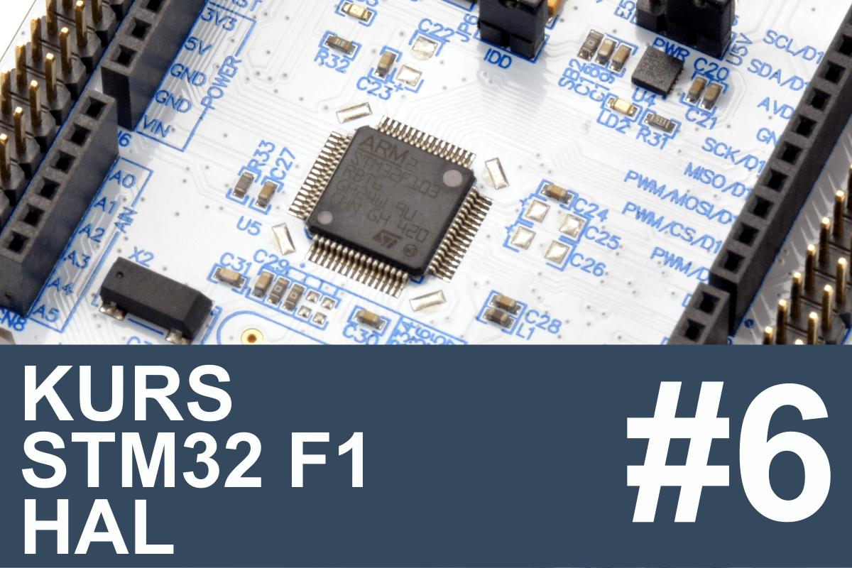 Kurs STM32 F1 HAL - #6 - pomiar napięcia, przetwornik ADC