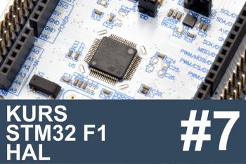 Kurs STM32 F1 HAL – #7 – liczniki (timery) w praktyce, PWM
