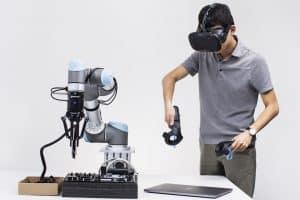 Roboty uczą się od ludzi w wirtualnej rzeczywistości