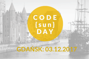 CODE{sun}DAY, 03.12.2017 – Gdańsk